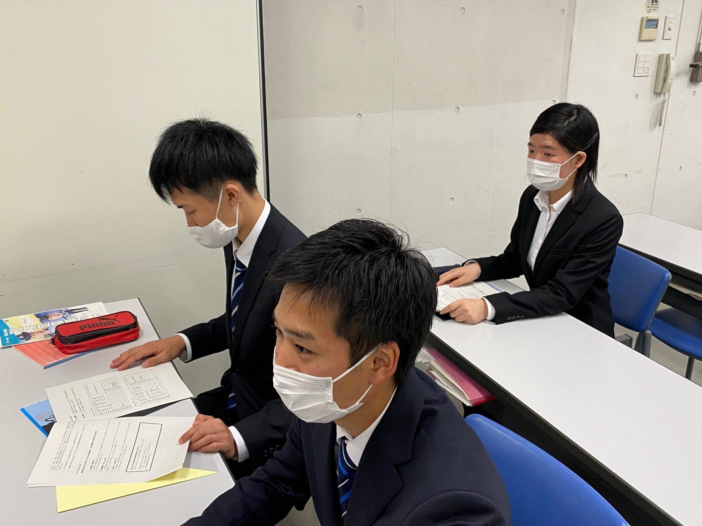 学科ブログ【公務員科】海上保安庁説明会